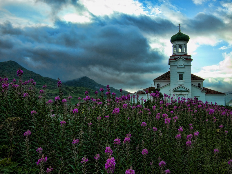 Russian Orthodox Church of the Holy Ascension, Dutch Harbor, Unalaska