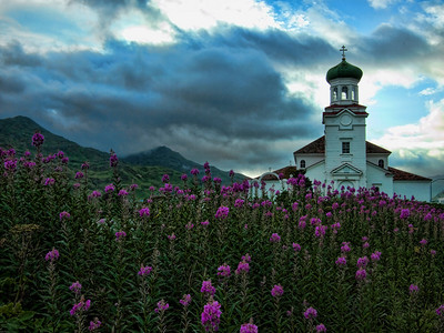 Russian Orthodox Church of the Holy Ascension, Dutch Harbor, Unalaska