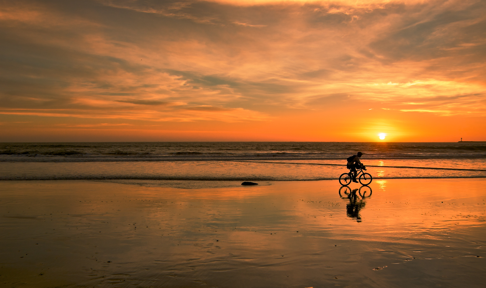 Bicycle Sunset