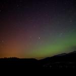 northern lights over Whitehorse, Yukon.