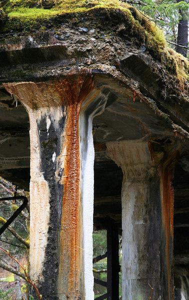 mine ruins on South Douglas Island