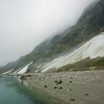 Glacier Bay beach