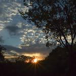sunset at the Mesa