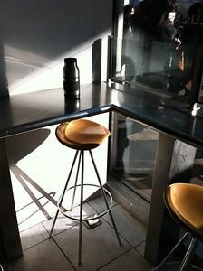 Urban-sleek coffee.