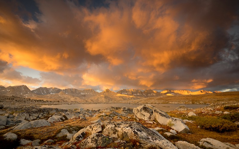 Humphry's Basin, Sierra
