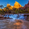 Rapids and the Patriarchs at Sunrise