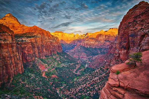 Sunrise, Canyon Overlook