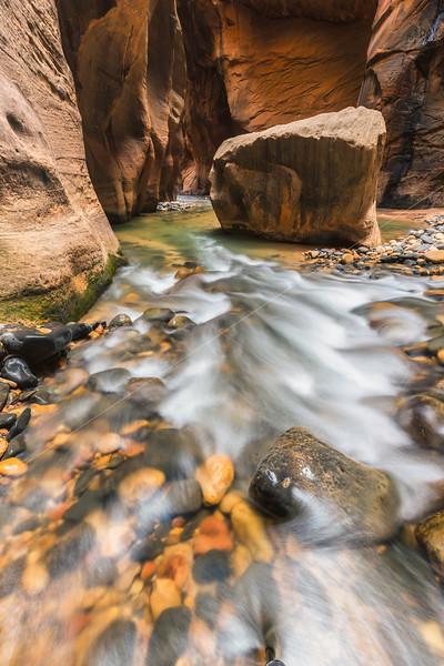 The Rapids and the Boulder