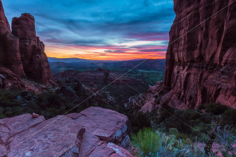 A Sunset View, Cathedral Rock