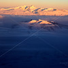 Mt. Aragats and Mt. Ara at Sunrise