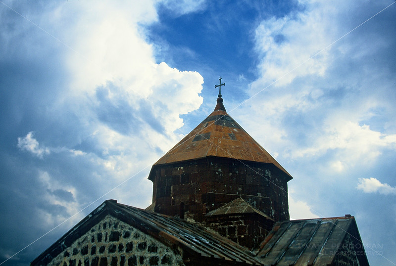 Sevanavank and Clouds