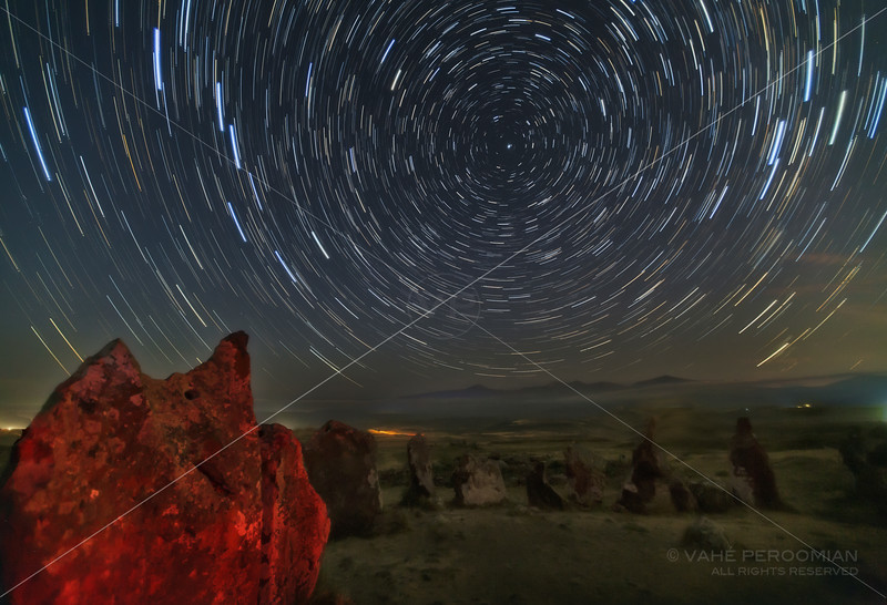 Star Trails at Karahunj