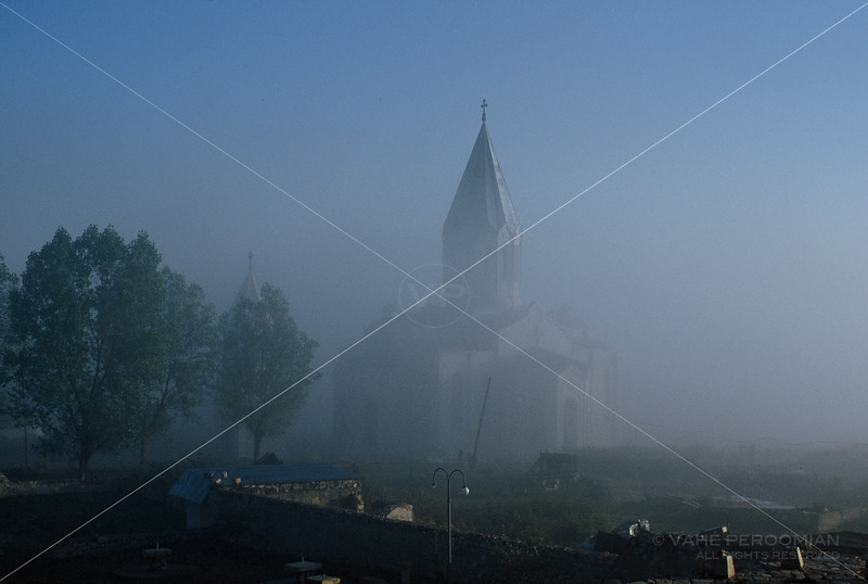 Morning Fog and Ghazanchetsots