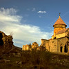 Last Light at Hnevank Monastery