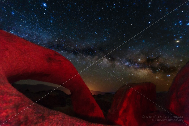 The Milky Way at Mobius Arch