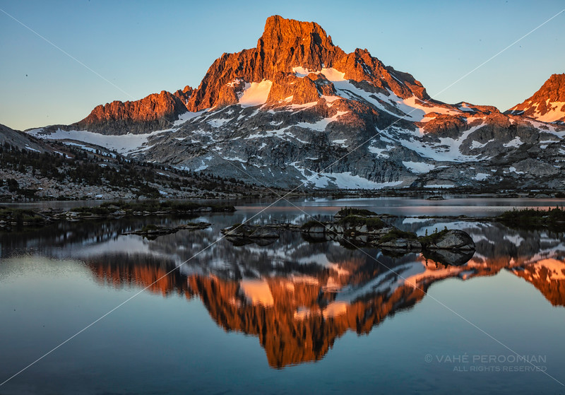 Sunrise in the Ansel Adams Wilderness