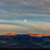 Highway 395 Moonrise