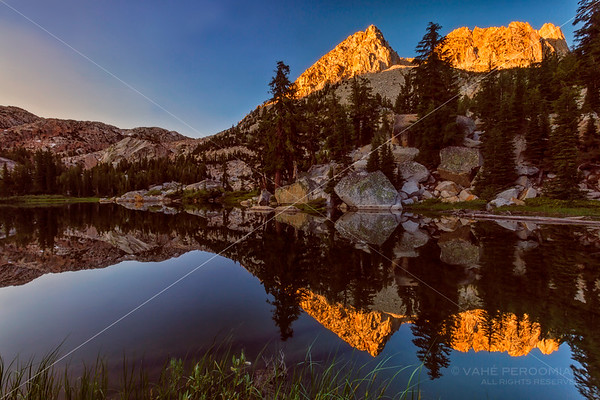 Robinson Lakes Sunrise