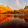 Fiery Sunrise, Minaret Lake