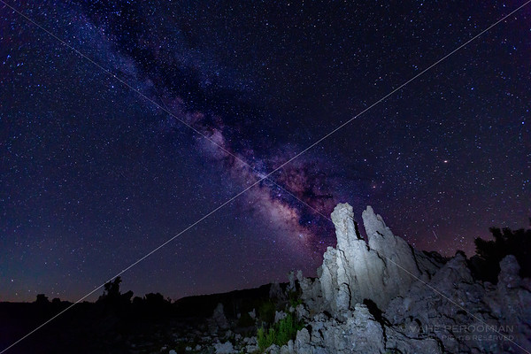 Milky Way over South Tufa