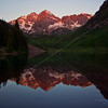 First Light, Maroon Bells