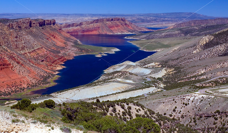 Flaming Gorge from Sheep Creek Overlook