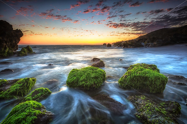 Sunset at Low Tide, Malibu