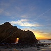 Sunset, Pfeiffer Beach