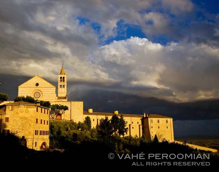 St. Clare of Assisi at Sundown