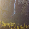 Birdalveil Falls at Sunrise