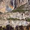 Rainbow over Yosemite Falls