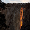 Horsetail Falls and El Capitan