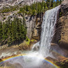 Double Rainbow at Vernal Falls