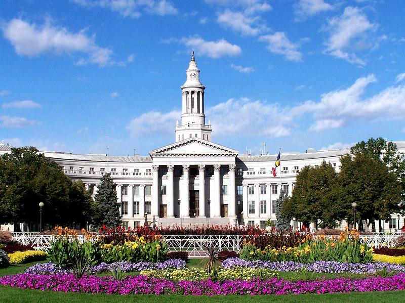 The Denver capitol building.