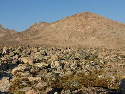 Storm Peak from the boulder field