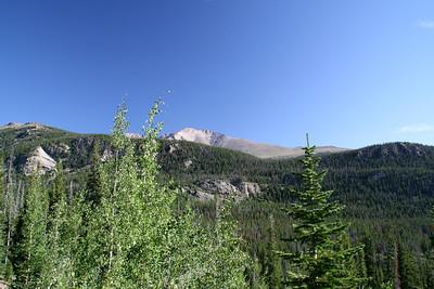 Looking south towards Mt Meeker.