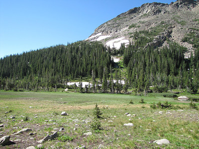 Views from Thunder Lake (extreme right)