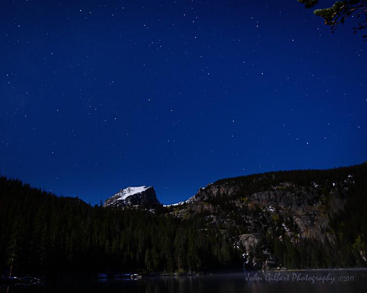 Hallett Peak Under The Stars