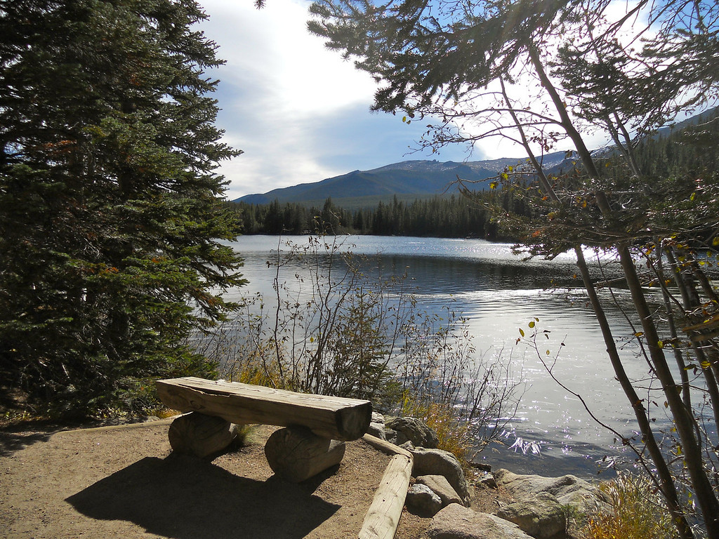 Bench at Bear Lake