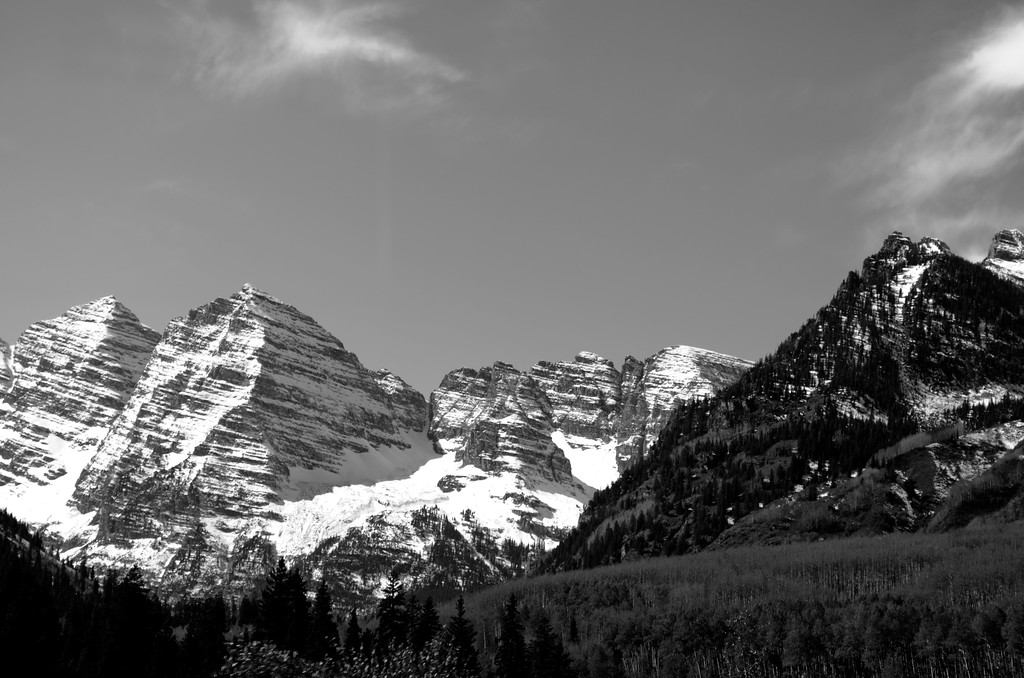 Deadly Bells mountain range<br /> Aspen, Col.
