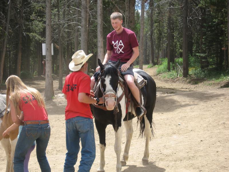 Alex on horse