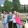 Sydney, Makenna, Cheri, Megan, and Carly in Breckenridge