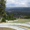 Alpine slide track
