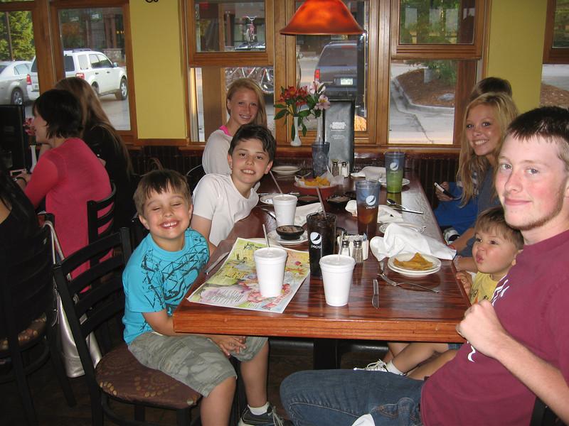 Gavin, Drake, Carly, Megan, and Alex