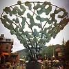 Vail town plaza sculpture