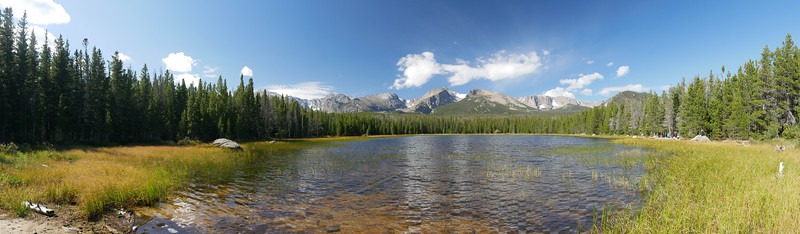 Bierstadt Lake (Panorama)