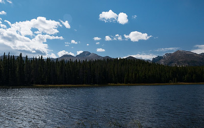 Long's Peak Over Bierstadt Lake