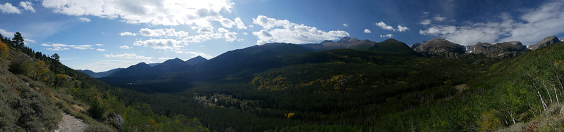 View of the Rockies (Panorama)