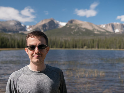 Yours Truly at Bierstadt Lake