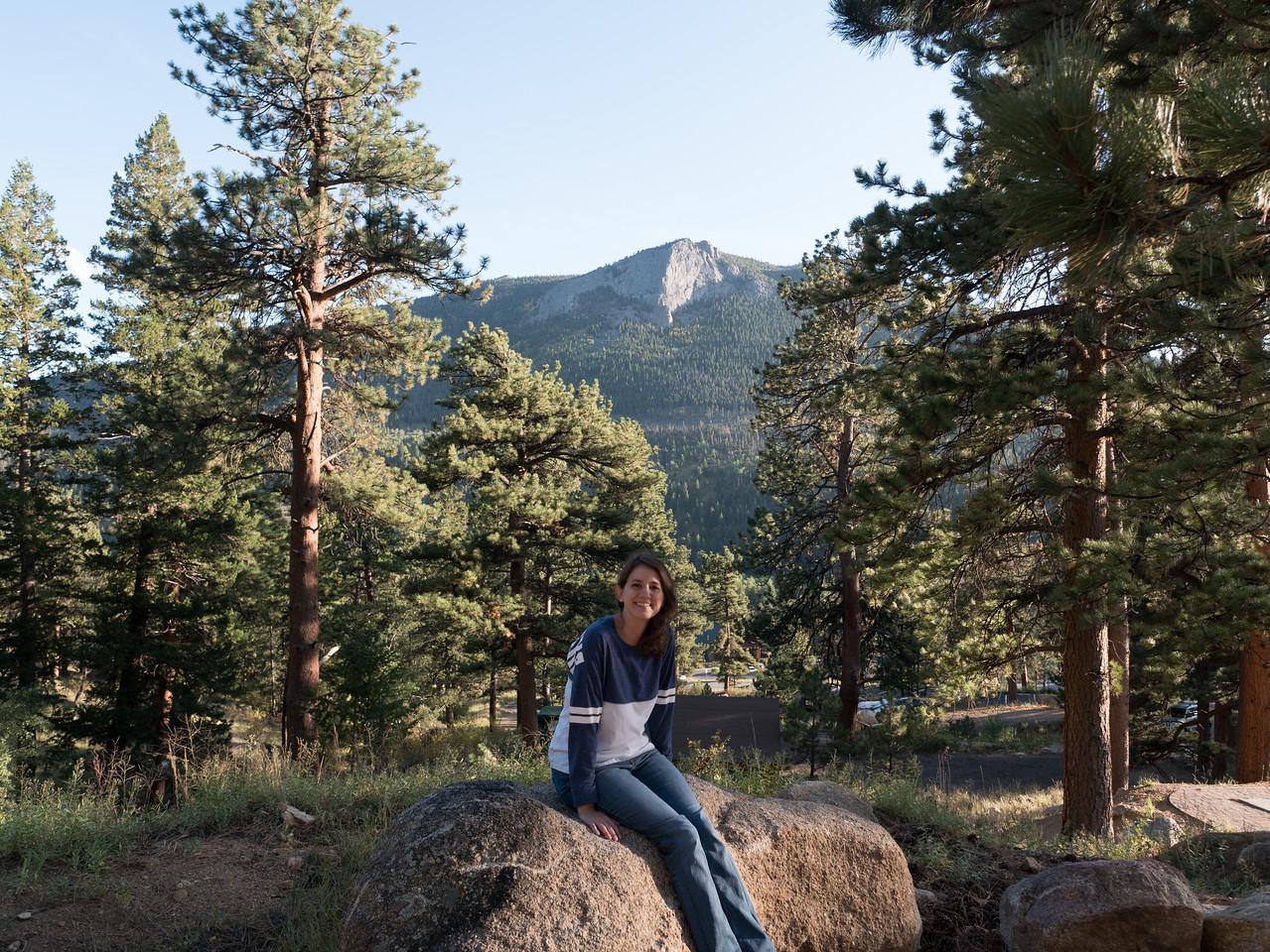 In Front of Deer Mountain